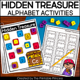 Hidden Treasure: An Alphabet Find and Cover Game