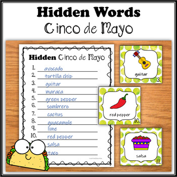 Hidden Words - Cinco de Mayo