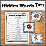 Hidden Words - Toys