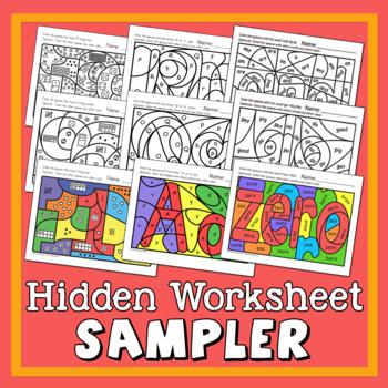 Hidden Worksheet Sampler