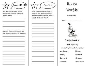 Hidden Worlds Trifold - Treasures 5th Grade Unit 2 Week 1 (2011)