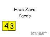Hide 0 Cards