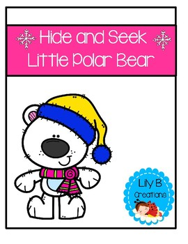 Hide And Seek Game - Little Polar Bear