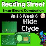 Hide Clyde! SmartBoard Companion Kindergarten