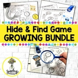 Hide & Find - Speech Therapy Activities - GROWING Bundle