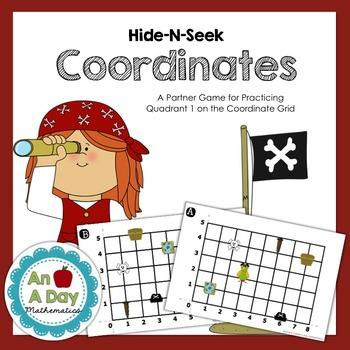 Hide-N-Seek Coordinate Grids: A Battleship Style Partner Game {CCSS 5.G.1}