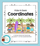Hide-N-Seek Coordinate Grids: A Battleship Style Partner Game {Summer Edition}
