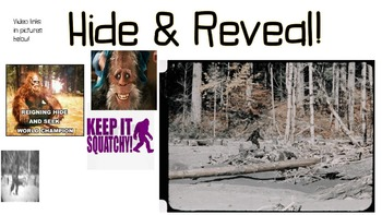 Hide & Reveal Formative Assessment (Dirds Edition)