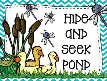 Hide & Seek Pond Hidden Words