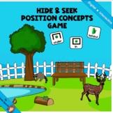 Hide & Seek Position Concept Game