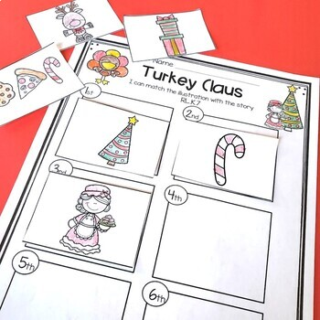 Hide That Turkey - Literacy Ideas for Turkey Trouble and Turkey Claus