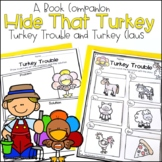 Turkey Trouble and Turkey Claus Book Companion