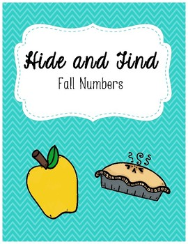 Hide and Find: Fall Number Game