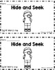 "Hide and Seek: 2 Differentiated Sight Word Emergent Readers ""me"""