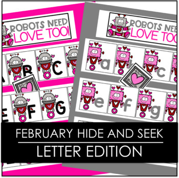 Hide and Seek - February Letter Edition