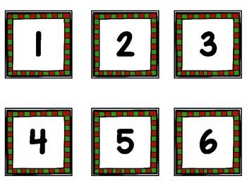 Hide and Seek-Pocket Chart Game EN