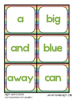 Hide and Seek Sight Words