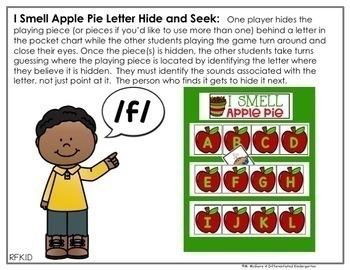 Hide and Seek Year Long Bundle - Letter Edition (Growing Bundle)