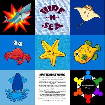 Hide -n- Sea Collaborative Memory Game