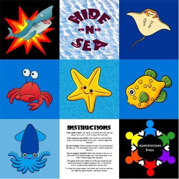 Hide -n- Sea Collaborative Memory Game