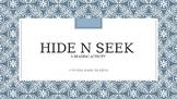 Hide n Seek - A Reading Activity