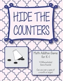 Hide the Counters Math Game