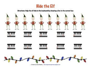 Hide the Elf Music Game