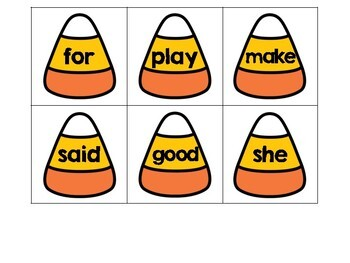 Hide the Ghost-Sight Word Recognition Game