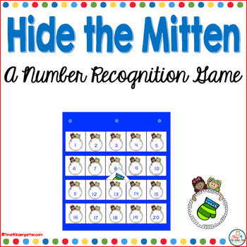 Hide the Mitten- A Number Recognition Game