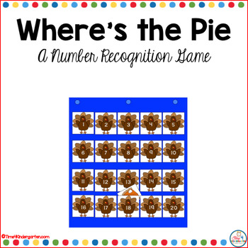 Hide the Pie- A Number Recognition Game