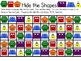 Hide the Shapes Game - Geometry Fun!
