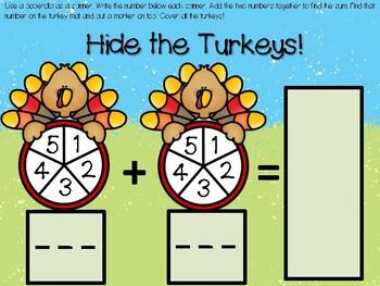 Hide the Turkeys!!