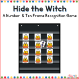 Hide the Witch-Number Recognition Game