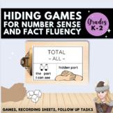 Hiding Game for Fluency Composing  Decomposing Numbers Kindergarten First Grade