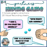 Hiding Game Introduction to Part Whole Models Kindergarten First Grade