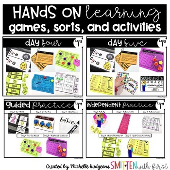 Hiding I (Activities for learning long vowel i cvce)