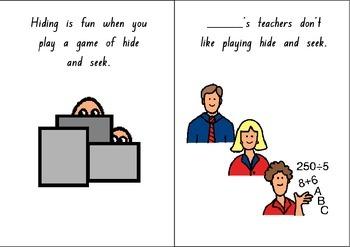 Hiding Social Story