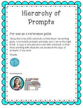 Hierarchy of Prompts