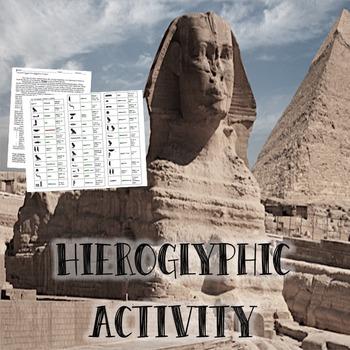Hieroglyphic Activity