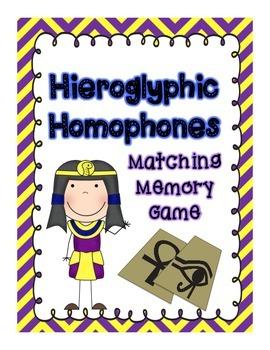 Hieroglyphic Homophones