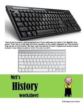 WORLD - Hieroglyphic Keyboard