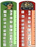 Hieroglyphic Rulers