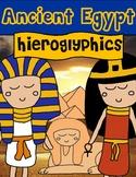 Egypt: Hieroglyphics