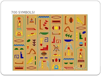 Hieroglyphics PowerPoint