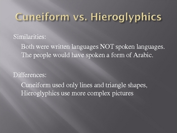 Hieroglyphics Powerpoint