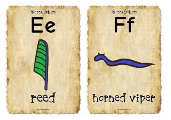 Hieroglyphics with Words