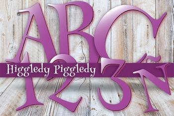 "Higgledy Piggledy Henny Penny -  98 pcs  - 300 DPI - PDF & PNGs - 5"" High"