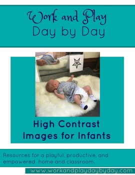 High Contrast Geometric Images for Infants and Toddlers
