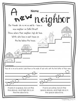 Music Worksheets for High Do {Ready Set Print!}