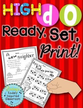 High Do {Ready Set Print!}